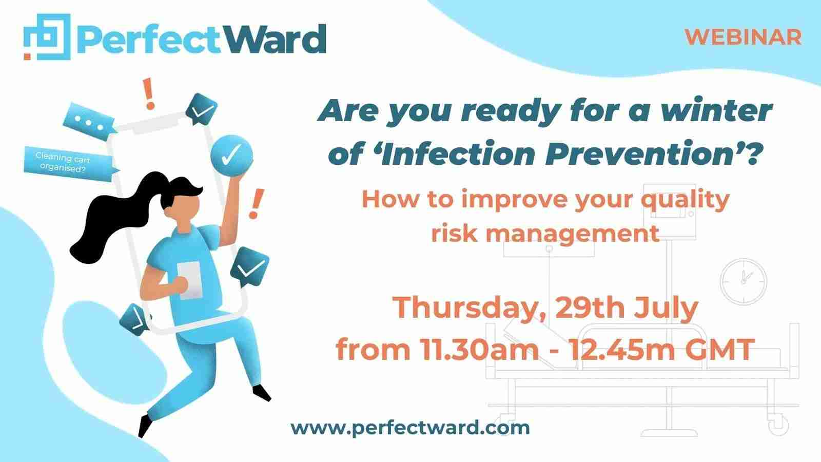 Infection control systems webinar