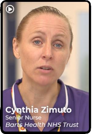 Cynthia Zimuto, Senior Nurse